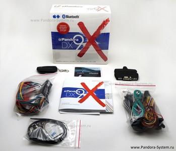 Комплектация Pandora DX 9X