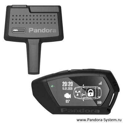 OLED-брелок Pandora D-043 + RF-модуль DXL 470